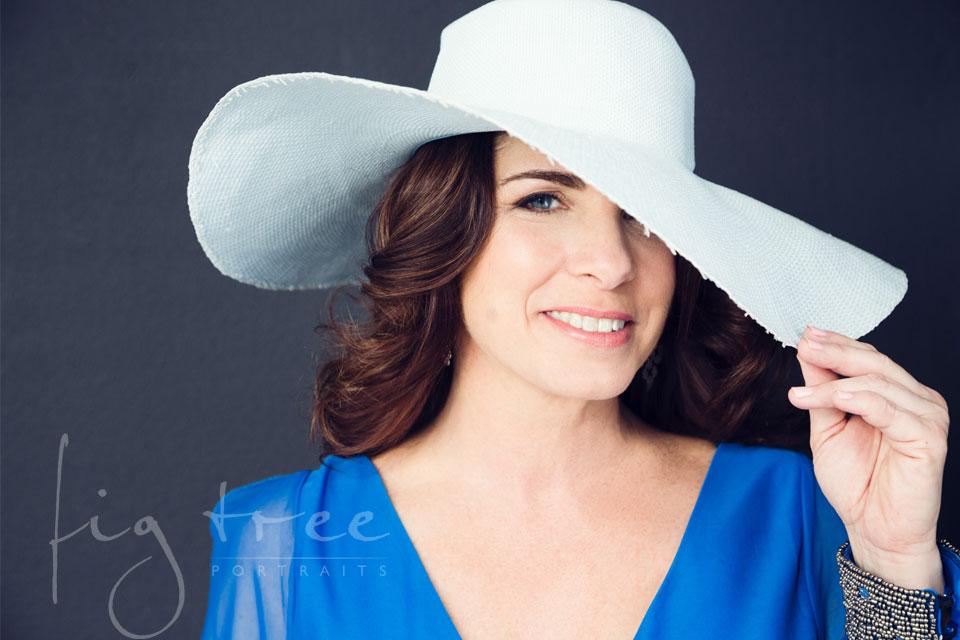Valerie - hat portrait