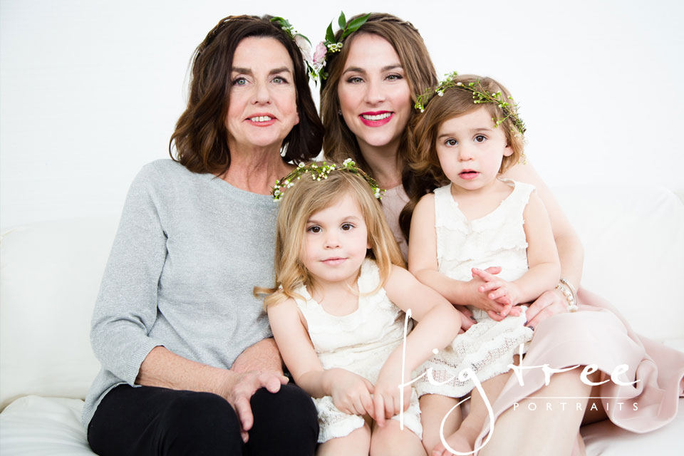 Three generation shoot - Katie and Denise