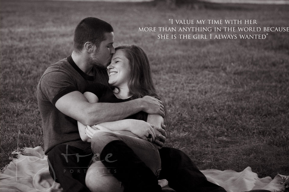 Beloved session with a quote - Joe & Kristin